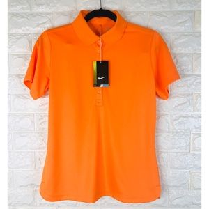 Nike Golf Tour Performance Dri Fit Polo Shirt Sz M